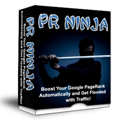 Product picture P R Ninja - Link/ PageRank Builder - Master Resale Rights